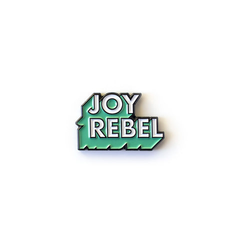 Joy Rebel Enamel Pin