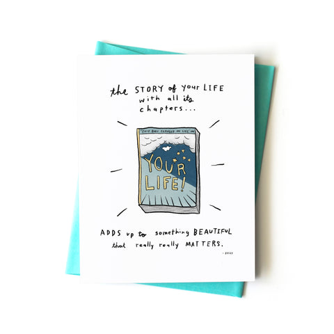 Story of Your Life Card