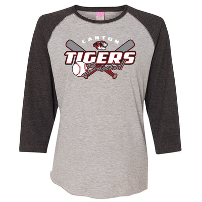 Canton Baseball Ladies Baseball Tee