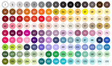 Artful Life Designs Color Chart