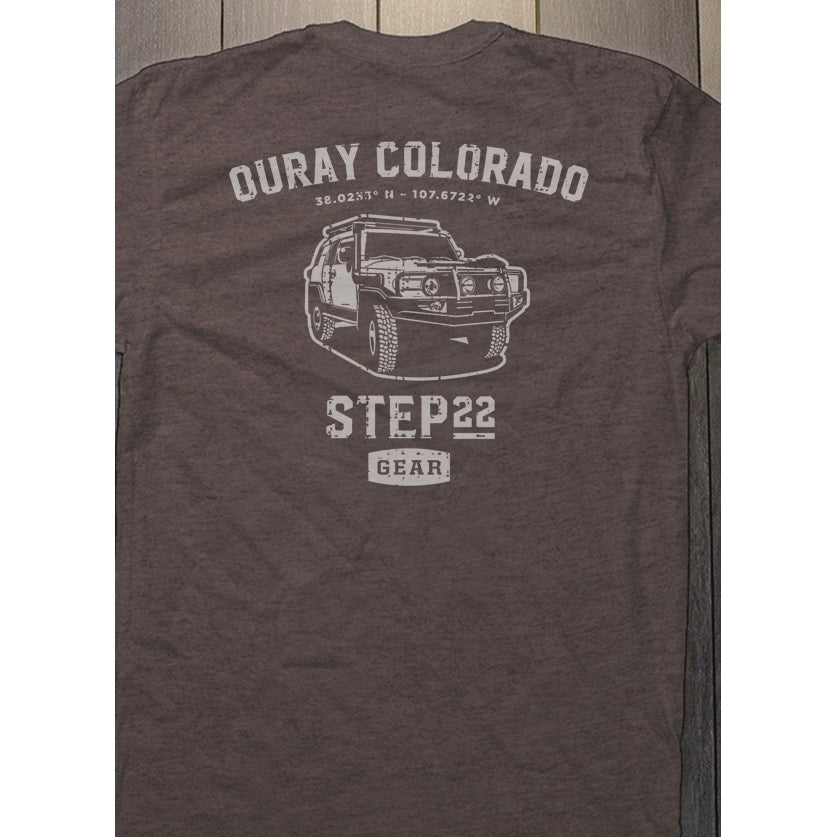 STEP 22 Men's Ouray FJ Cruiser T-Shirt