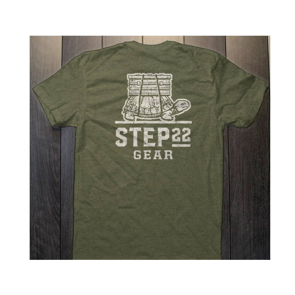 STEP 22 Men's Vintage Logo T-Shirt