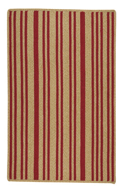 LMCo. Home Red Stripe Rug