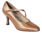 DSI PARIS Wide Fit Ladies Ballroom Court Shoes