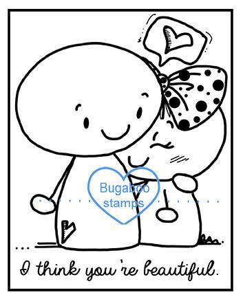Word art/ Sentiments,Digi Singles,BUGFIG03 frame it you are beautiful,Bugaboo Stamps,