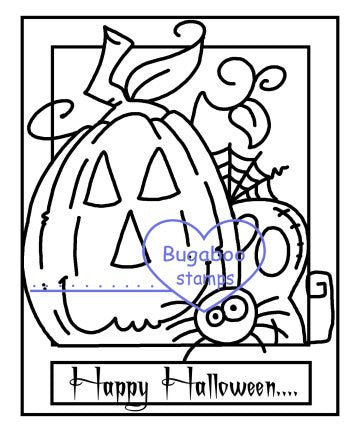 Digi stamps,MIS Happy Halloween,Bugaboo Stamps,