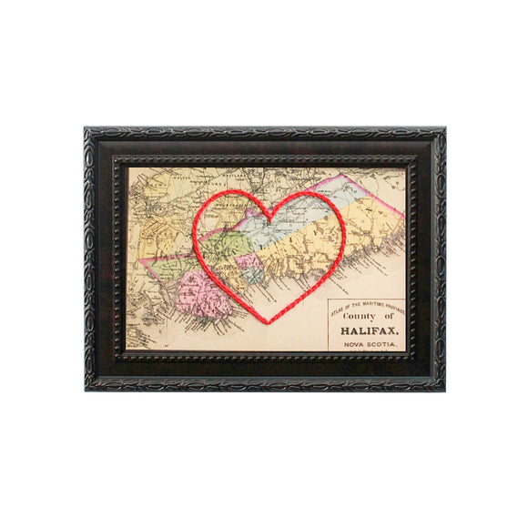 Halifax County, NS Heart Map