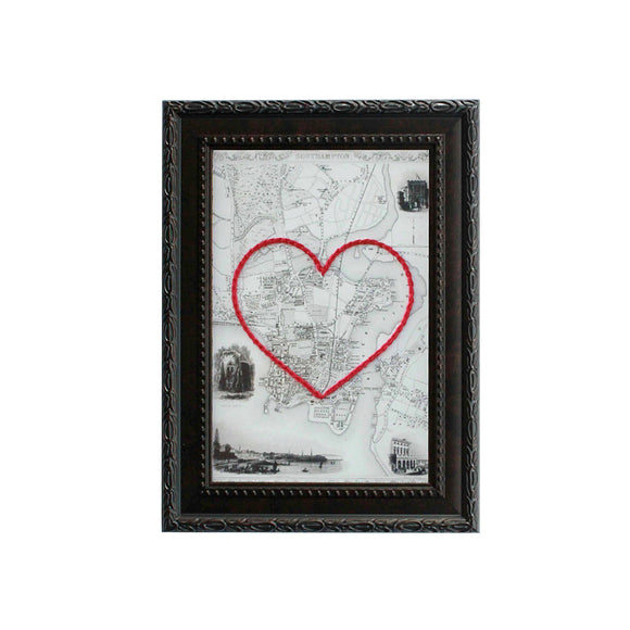 Southampton, England Heart Map