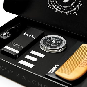 """Black Box"" Grooming Kit - The Soap Matrix"