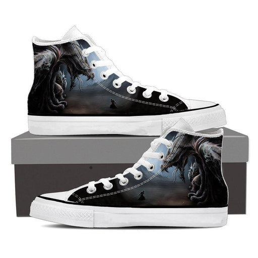 World of Warcraft Dragon Creature Fan Art Design Sneaker Converse Shoes