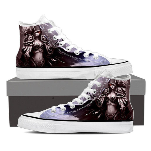 World of Warcraft Sylvanas Elf Archer Artwork Sneaker Converse Shoes