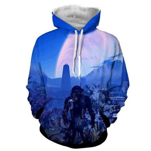 Mass Effect Andromeda Planet Alien Concept Game Hoodie - Superheroes Gears