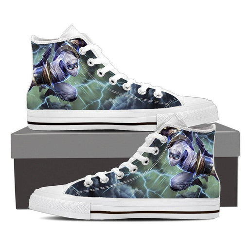 League of Legends Shockblade Zed Lightning Strike Cool Converse Shoes