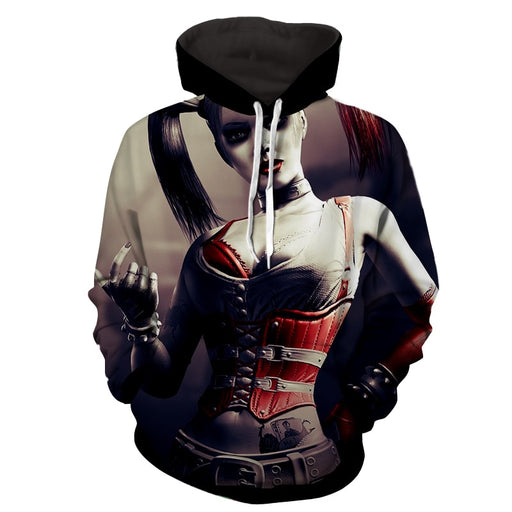 Harley Quinn Animated Design Suicide Squad Cool Hoodie