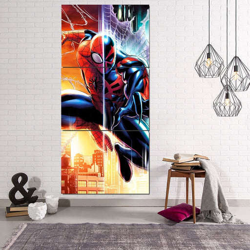 Spider-Man Speed And Agility 3pcs Wall Art Canvas Print
