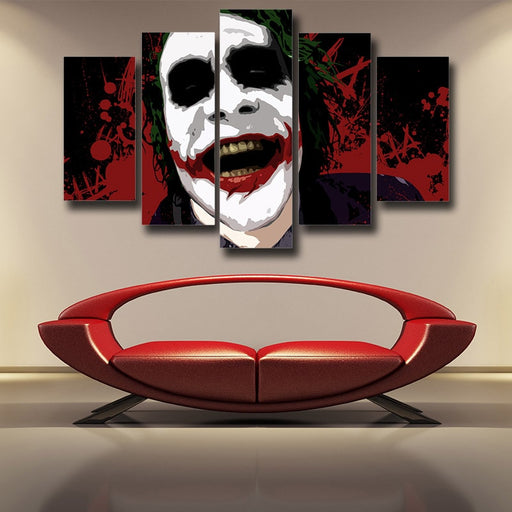 The Devil's Advocate Joker 5pcs Wall Art Canvas Print
