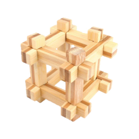 Bamboo Puzzles Medium - Captured