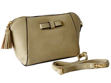 A-SHU ORDER BY REQUEST - SMALL BEIGE CROSS-BODY SHOULDER BAG WITH LONG STRAP - A-SHU.CO.UK