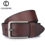 men's belt genuine leather belt for men designer belts men high quality fashion luxury brand wide belts-Justt Click