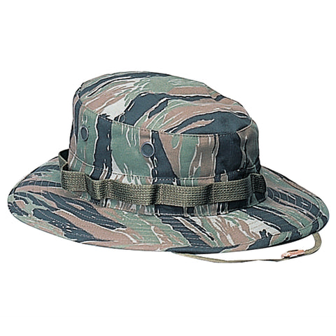 ROTHCO CAMO POLY/COTTON BOONIE HAT - TIGER STRIPE - Hock Gift Shop | Army Online Store in Singapore