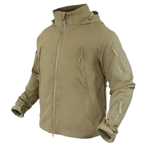 CONDOR SUMMIT ZERO LIGHTWEIGHT SOFT SHELL JACKET - TAN
