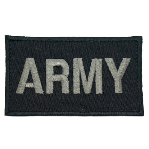 ARMY CALL SIGN PATCH - BLACK FOLIAGE - Hock Gift Shop | Army Online Store in Singapore
