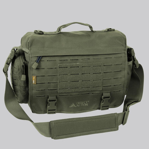 DIRECT ACTION MESSENGER BAG - 500D CORDURA (OLIVE GREEN)
