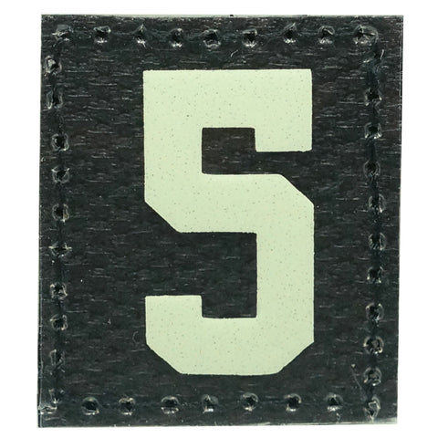 HGS NUMBER 5 PATCH - GLOW IN THE DARK