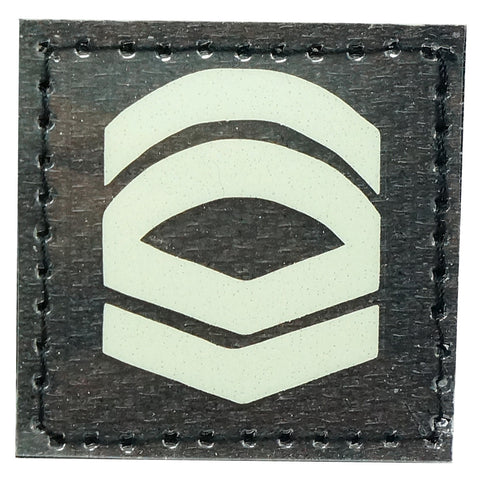 GLOW IN THE DARK RANK PATCH - 1ST CLASS CORPORAL