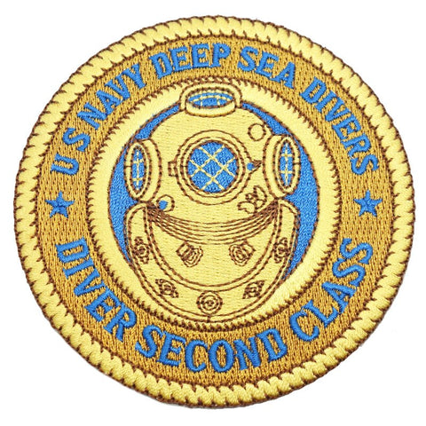 HIGH DESERT US NAVY DEEP SEA DIVERS PATCH - Hock Gift Shop | Army Online Store in Singapore