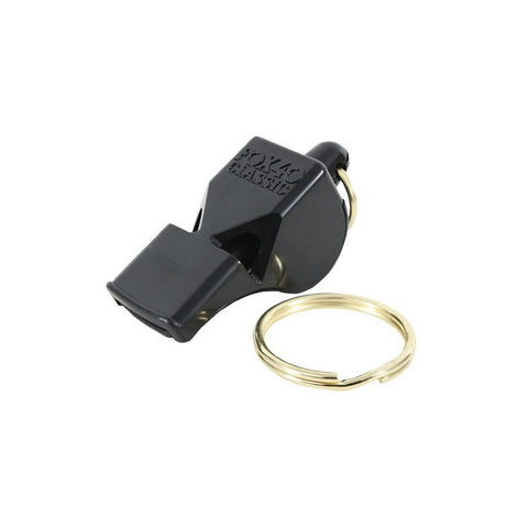 FOX 40 CLASSIC SAFETY WHISTLE - BLACK