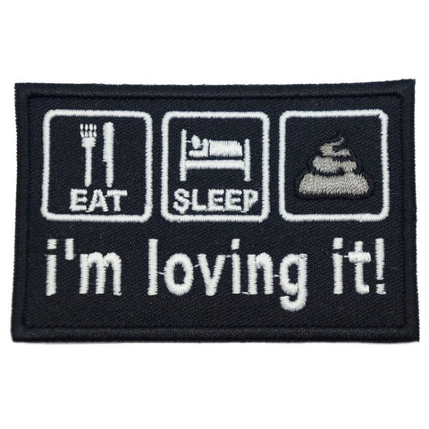 I'M LOVING IT PATCH - BLACK - Hock Gift Shop | Army Online Store in Singapore