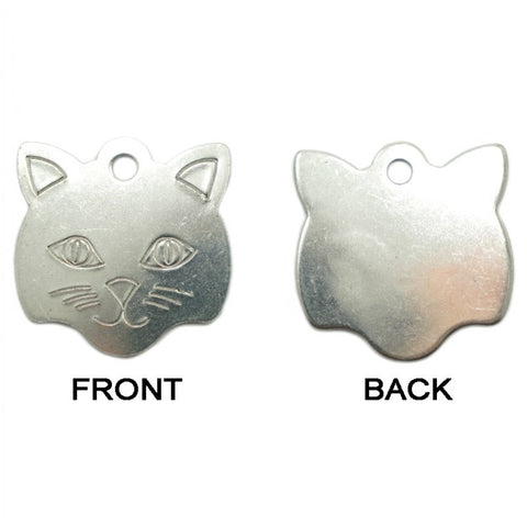 KITTY FACE METAL TAG (LARGE) - Hock Gift Shop | Army Online Store in Singapore