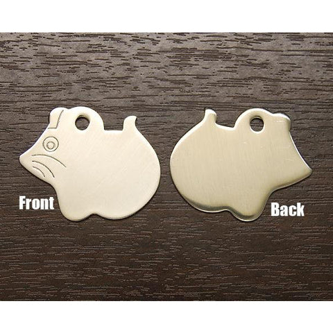 MOUSE SHAPE METAL TAG - Hock Gift Shop | Army Online Store in Singapore