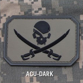 MSM PIRATESKULL PVC - ACU DARK - Hock Gift Shop | Army Online Store in Singapore