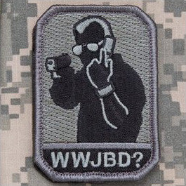 MSM WWJBD? - ACU DARK - Hock Gift Shop | Army Online Store in Singapore