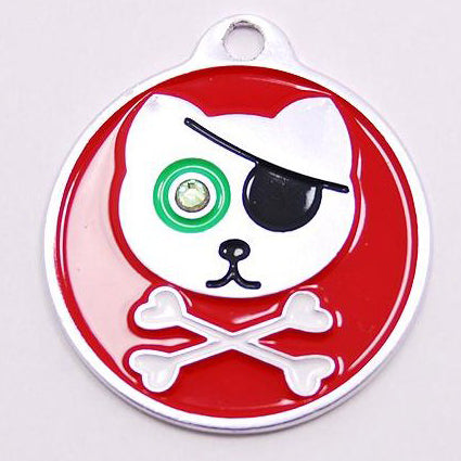 PIRATE KITTY CAT TAG - Hock Gift Shop | Army Online Store in Singapore