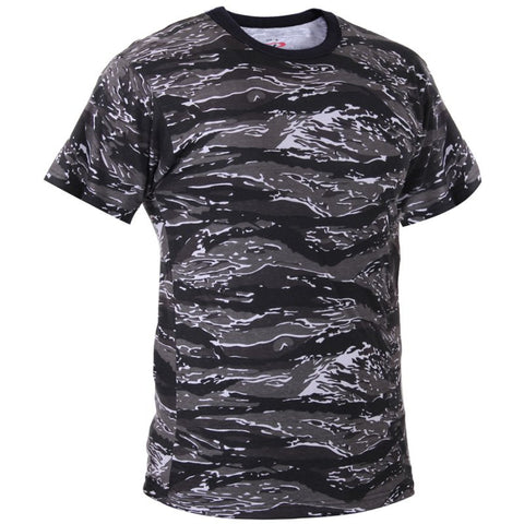 ROTHCO CAMO T-SHIRT - URBAN TIGER CAMO - Hock Gift Shop | Army Online Store in Singapore