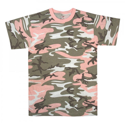 ROTHCO CAMO T-SHIRT - SUBDUED PINK CAMO - Hock Gift Shop | Army Online Store in Singapore