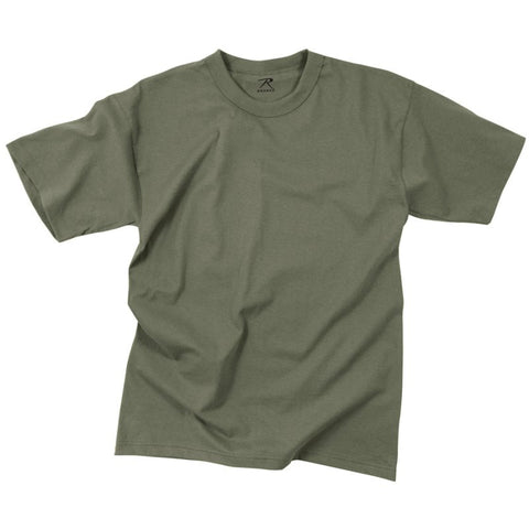 ROTHCO 100% COTTON T-SHIRT - FOLIAGE GREEN - Hock Gift Shop | Army Online Store in Singapore