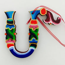 Hand-Painted Armenian Letters With Loop