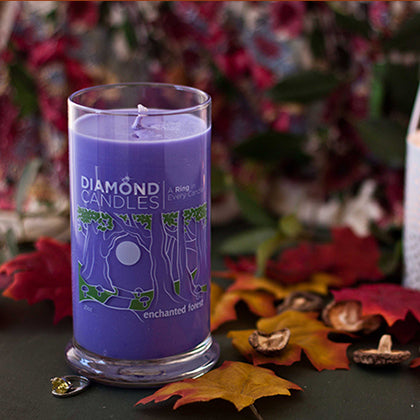 Enchanted Forest Ring Candle
