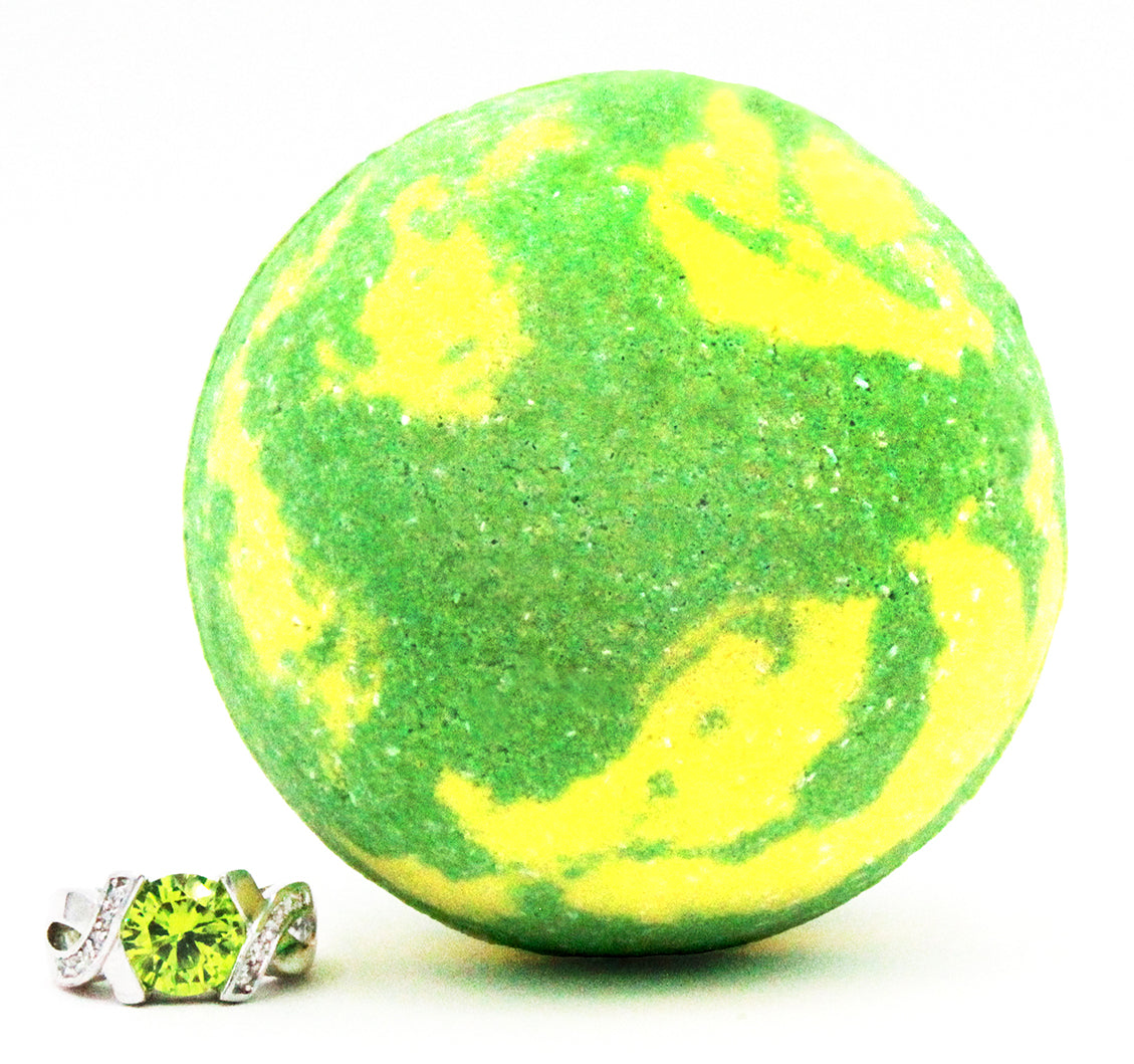 Lemongrass Verbena Ring Bath Bomb (Pick Your Size)