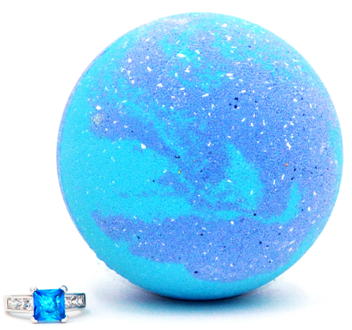 Ocean Breeze Ring Bath Bomb (Pick Your Size)