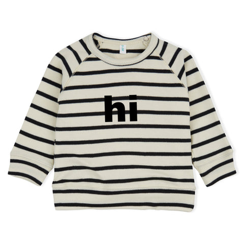 Breton Stripes sweatshirt sweater hi organic zoo
