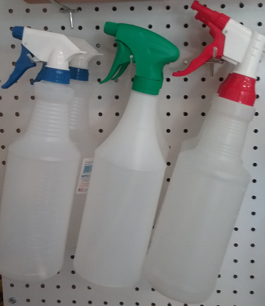 7)  Reg. Spray Bottles