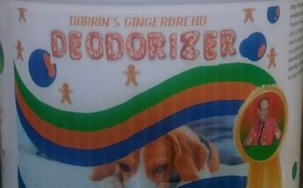 1 AA) Soap Daddy Darrin's Gingerbread Deodorizer