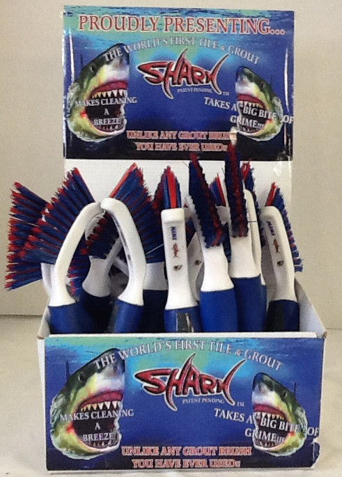 X Mighty Mini-Shark Handheld Brush