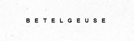 Betelgeuse Shop