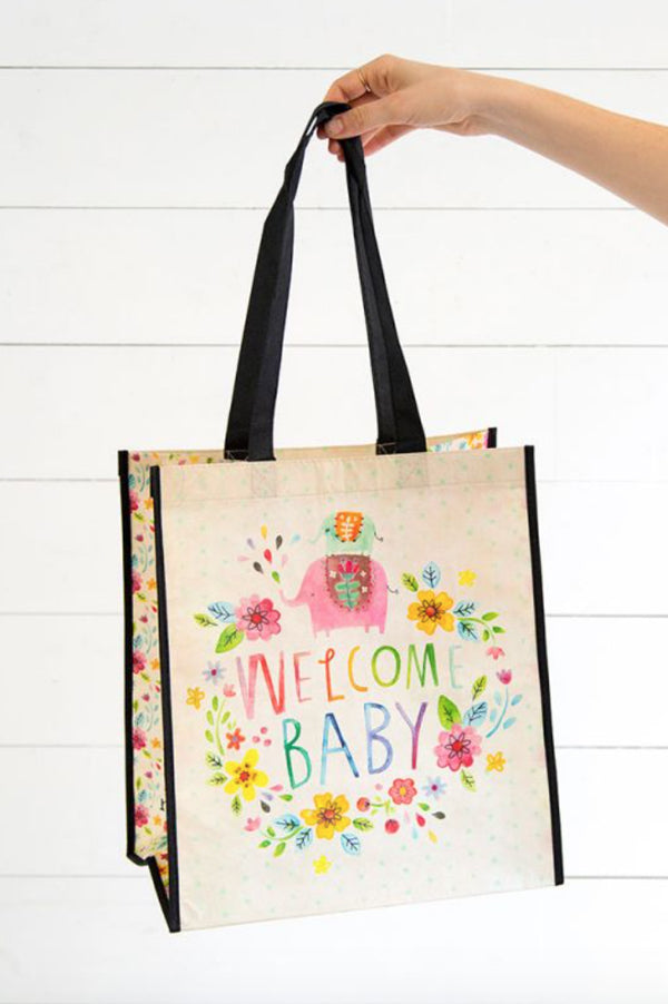 Large Recycled Bag | Welcome Baby